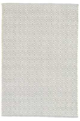 Lattice Sky Woven Cotton Rug-8' x 10' - Dash and Albert