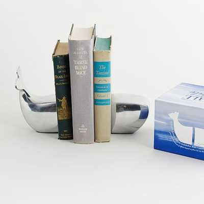 Whale Bookends - Set of 2 - West Elm