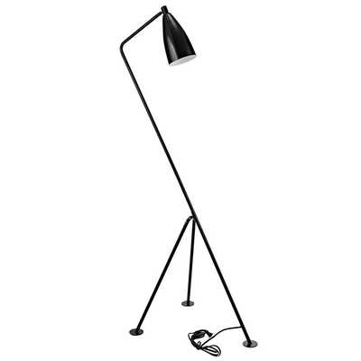 ASKANCE FLOOR LAMP IN BLACK - Modway Furniture