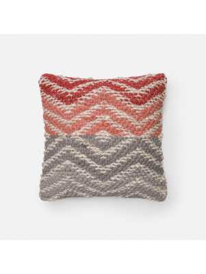 KYD WOVEN PILLOW - 18x18 With insert - Lulu and Georgia