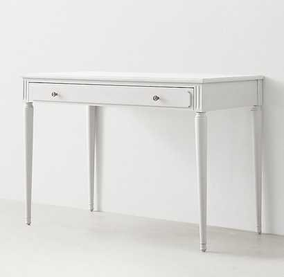 MAELIN WRITING DESK - french white - RH Teen