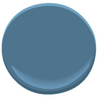 Benjamin Moore Bedford Blue Paint - Benjamin Moore