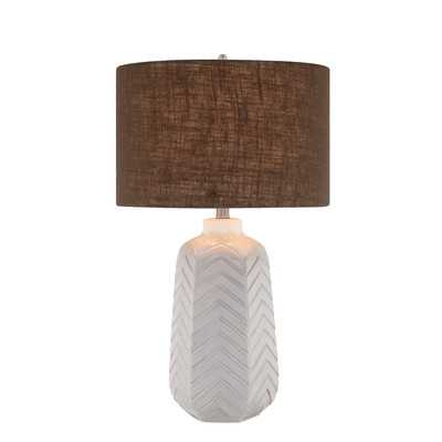 Table Lamp with Drum Shade - Wayfair