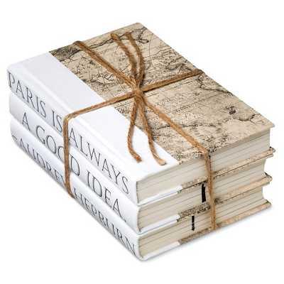 Hepburn Quote Decorative Book Set of 3 - Target