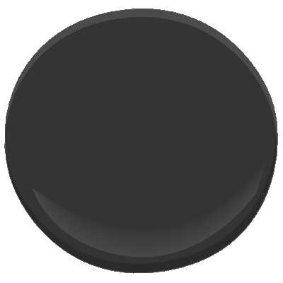 Benjamin Moore ben - Jet black (Sample) - Benjamin Moore