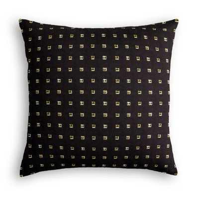 "Throw Pillow - Stud Muffin - Black - 20""x20"" - Poly Insert - Loom Decor"