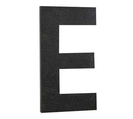 """Oversize Hanging Letter """"E"""" - Pottery Barn"""