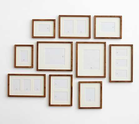 GALLERY IN A BOX - WOOD GALLERY FRAMES - Set of 10 - Pottery Barn