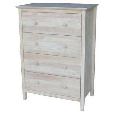 Dresser Unfinished - International Concepts - Target