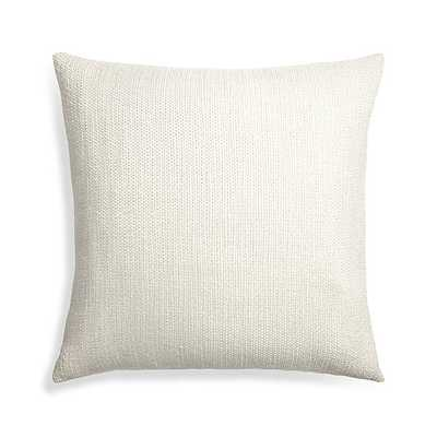 "Tinsel 23"" Pillow With Down-Alternative Insert - Crate and Barrel"