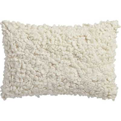 """Toodle 18""""x12"""" pillow with insert - CB2"""