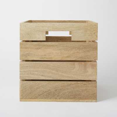 Crated Office Collection - Storage Box - West Elm