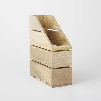 Crated Office Collection-Magazine Butler - West Elm