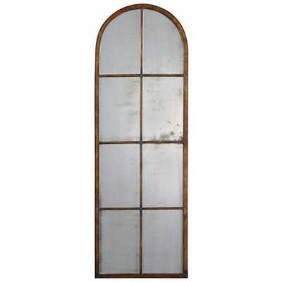"""Uttermost Amiel Arch 50"""" High Wall Mirror - Lamps Plus"""