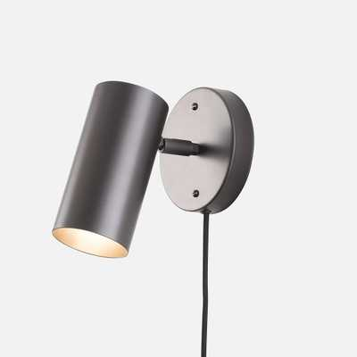 Eduard Plug-In Sconce - Black - Schoolhouse Electric