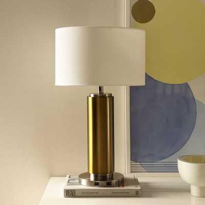 Pillar Table Lamp + USB - West Elm