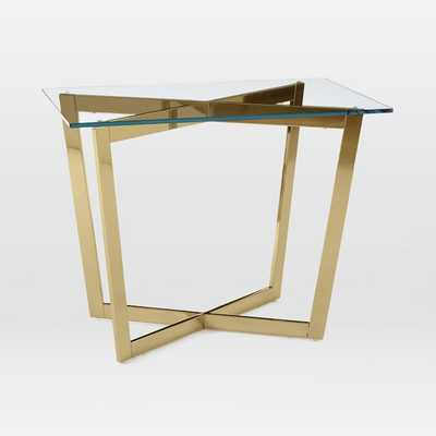 Cross-Base Side Table - West Elm
