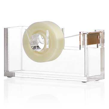 Acrylic Desk Accessories - Tape Dispenser - Z Gallerie