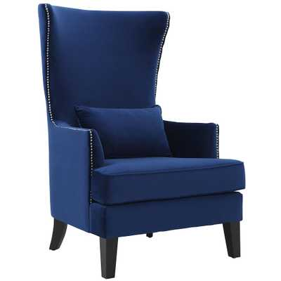 Bornmouth Navy Tall Chair - Maren Home