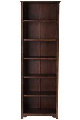 "Oxford Bookcase - Chesnut - Six Shelf - 36"" W - Home Depot"