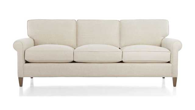 Montclair 3-seat Sofa-natural - Crate and Barrel