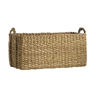 Braided Console Basket - West Elm