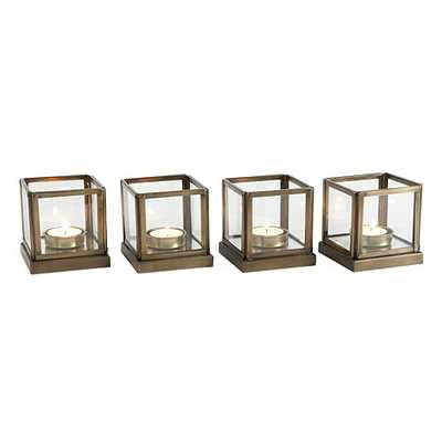 Le Marais Tea Light Holders - Set of 4 - Ballard Designs