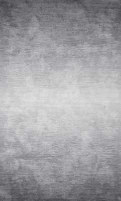 Hand Tufted Ombre Bernetta - 8x11 - Grey - Loom 23