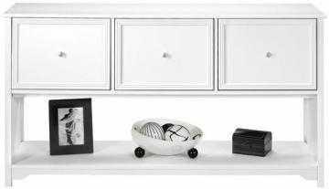Oxford 3-Drawer File Cabinet - White - Home Decorators