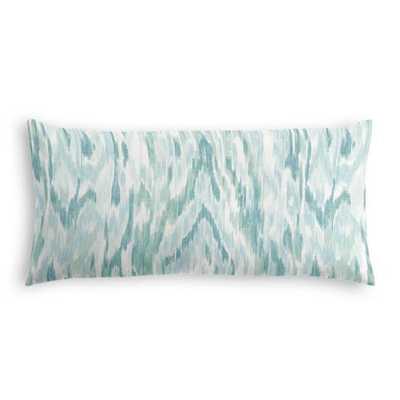 Lumbar Pillow  Mirage - Surf - 12'' x 24'' - Poly Fiber Insert - Loom Decor