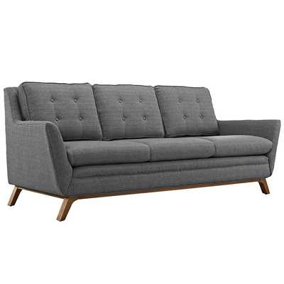 BEGUILE FABRIC SOFA IN GRAY - Modway Furniture
