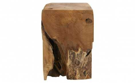 TEAK ROOT CUBE TABLE - Jayson Home