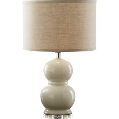Courtland Table Lamp - Dove - Birch Lane