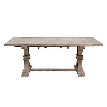 "Archer Extending Dining Table - Rectangular - 78"" - 110""W - Z Gallerie"