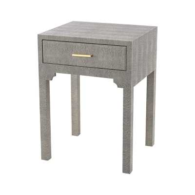 Sands Point Accent Side Table With Drawer - Rosen Studio