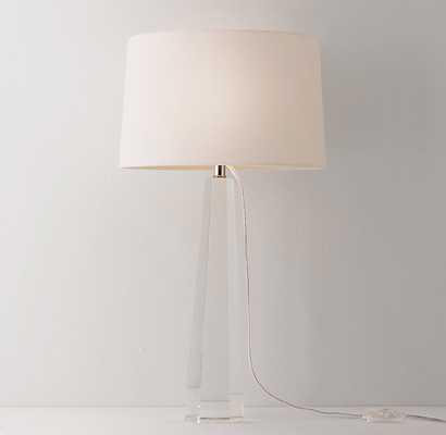 LAINE CRYSTAL TABLE LAMP BASE - RH Teen
