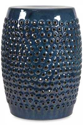 INDIGO GARDEN STOOL - Home Decorators