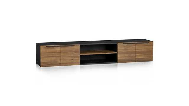 Rigby Large Floating Media Console - Crate and Barrel