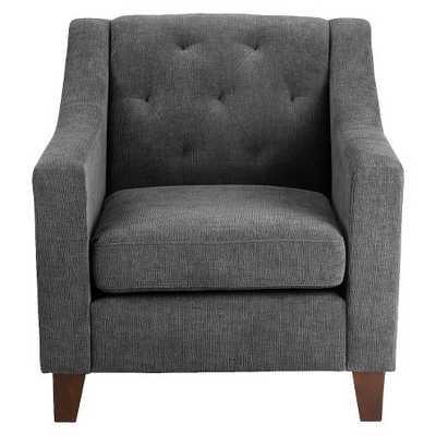Felton Tufted Chair - Gray - Target