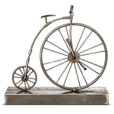 Bicycle Figurine - The Industrial Shop - Target
