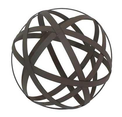 Metal Orb - Home Decorators