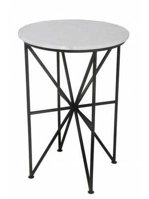 PARISA ACCENT TABLE, BLACK - Lulu and Georgia