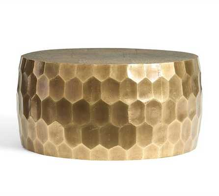 Vince Metal-Clad Coffee Table - Pottery Barn