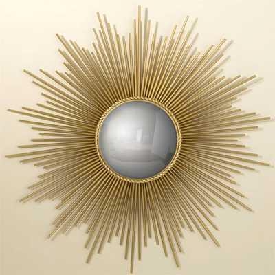 Global Views Gold Sunburst Mirror - Wayfair