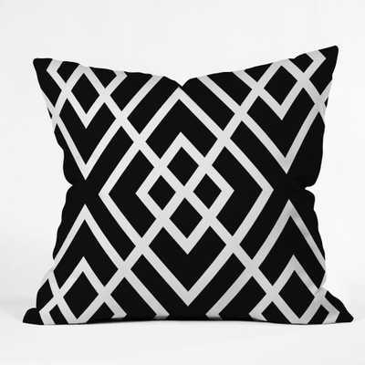 "INBETWEEN Throw Pillow - 18"" x 18""- Insert Included - Wander Print Co."