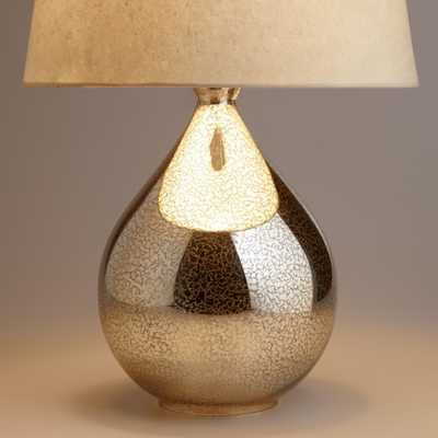 Martina Aged Mirror Table Lamp Base - World Market/Cost Plus