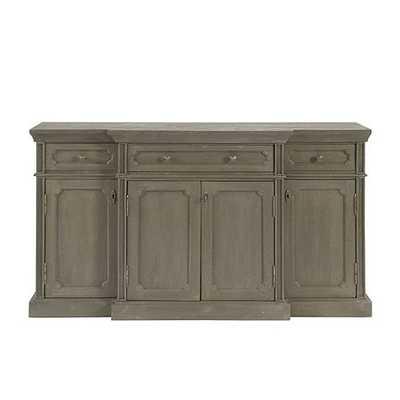 Marcel Console Table - Graywash - Ballard Designs