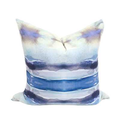 """Port Au Prince Pillow - 20"""" x 20"""" - Down insert included - bunglo"""