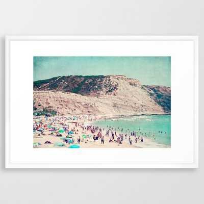"""Beach Love V - 26"""" x 38"""" - Society6"""