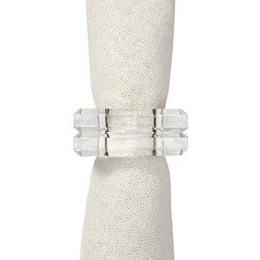 Square Napkin Ring - Set of 4 - Z Gallerie